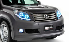 "Расширители колесных арок ""Elford"" для Toyota Land Cruiser 150 Prado"